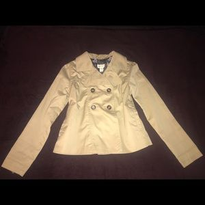 H&M Jackets & Coats - H&M Young Double Breasted Trenchcoat Youth 13/14